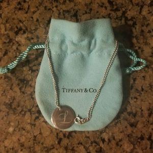 Tiffany & Co Inital Disc L